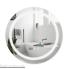 Дзеркало Qtap Mideya LED  настінне кругле 600х600 (QT2078F803W)