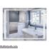 Дзеркало Qtap Mideya LED  настінне прямокутне 800х600 (QT2078B9021W)