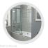 Дзеркало Qtap Mideya LED  настінне кругле 600х600 антизапотіваючим покриттям
