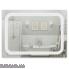 Дзеркало Qtap Mideya LED  настінне прямокутне 800х600 (QT2078F906W)