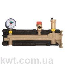 Afriso GAK 50 кВт, группа безопасности с соединением для расширительного бака (до 50л)