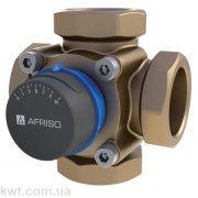 """4-ходовой смесительный клапан AFRISO ARV484 Rp 1"""" DN25 kvs 10"""
