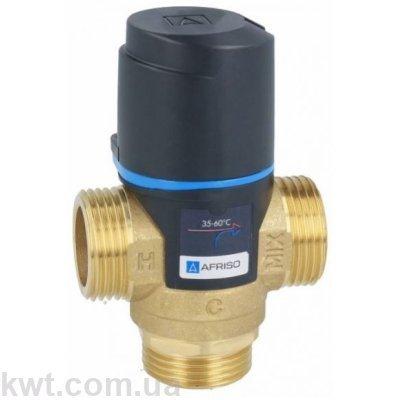 """Afriso (Афризо) ATM 363 G 1"""" DN20 35-60°С kvs 1,6 трехходовой термостатический клапан"""