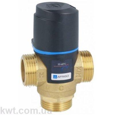 """Afriso (Афризо) ATM 563 G 1"""" DN20 35-60°С kvs 2,5 трехходовой термостатический клапан"""
