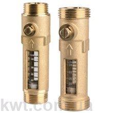 """Расходомер DFM Afriso 15-2M, G 1"""" х 1"""" (нак.гайка), 1-6 л/мин"""