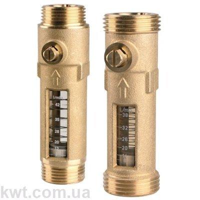 """Расходомер DFM Afriso 15-2M, G 3/4"""" х 3/4"""" (нак.гайка), 8-38 л/мин"""