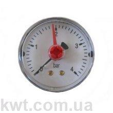 Манометр Arthermo MA200/P, 1/4″ (Ø63 мм, 0-4 бар)
