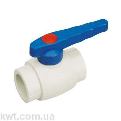 Кран шаровой PPR для холодной воды Blue Ocean