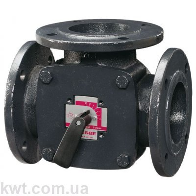 3-ходовой смесительный клапан ESBE F3 DN50 kvs 60