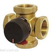 """4-ходовой бивалентный смесительный клапан ESBE VRB141 Rp 3/4"""" DN20 kvs 6,3"""