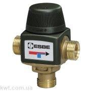 """Трехходовой термостатический клапан VTA312 G 1/2"""" DN15 35-60°С kvs 1,2"""