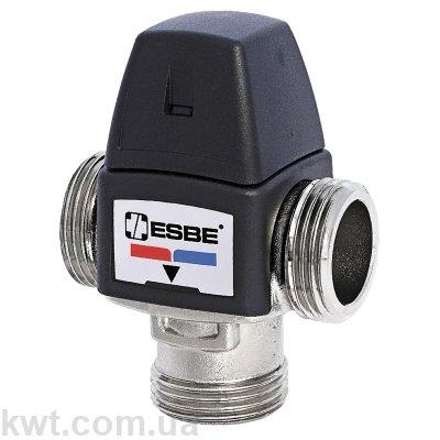 """Трехходовой термостатический клапан VTA362 G 1"""" DN15 35-60°С kvs 1,3"""