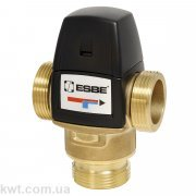 """Трехходовой термостатический клапан VTA522 G 1 1/4"""" DN25 20-43°С kvs 3,5"""