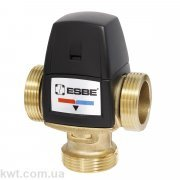 """Трехходовой термостатический клапан VTA552 G 1"""" DN20 45-65°С kvs 3,2"""