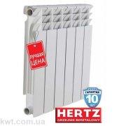 HERTZ 500/80 биметаллический радиатор