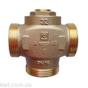 Трехходовой термосмесительный клапан HERZ Teplomix DN25 61°С