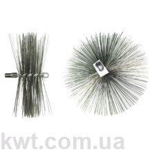 Щетка металлическая для чистки котла (люкс) 125 мм