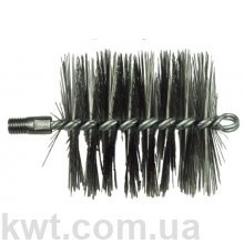 Щетка металлическая для чистки котла (люкс) 100 мм