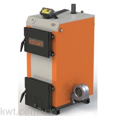Котел Котлант КГ 15  кВт с автоматикой и вентилятором
