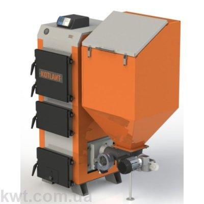 Котел твердотопливный длительного горения Котлант КГП 50 кВт.