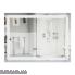 Дзеркало Qtap Mideya LED  настінне прямокутне 800х600 (QT2078F605W) (DC-F605)