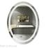 Дзеркало Qtap Mideya LED овальне настінне 600х800 (DC-F801)