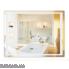 Дзеркало Qtap Mideya LED  прямокутне настінне 900х700 QT2078F9022W (DC-F902-2)
