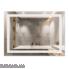 Дзеркало Qtap Mideya LED  прямокутне настінне 800х600 QT2078F904W (DC-F904)