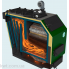 Котел длительного горения Гефест Profi S 30 кВт